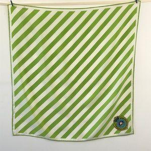 Talbots Silk Scarf with Nautical Design